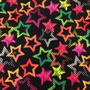 Funky Lycra with stars