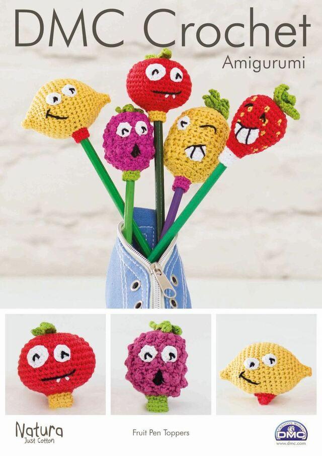 Fruit Pen Toppers Crochet