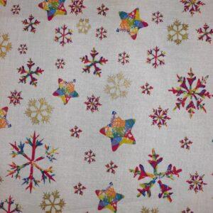 Ivory Rainbow stars and snowflakes