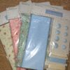 Mixed cotton buttons and trims