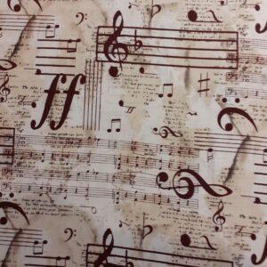 100% Cotton Vintage Music