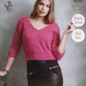 KingCole 4594 Knitting Pattern
