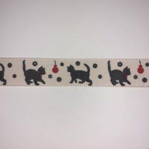 Black Cat:15mm Ribbon