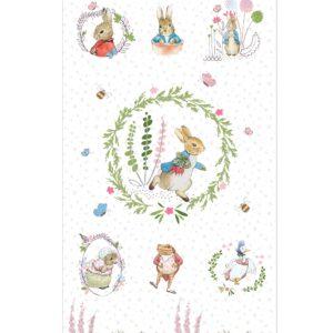 Peter Rabbit Fabric Panel