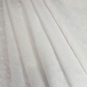 Embroidered Anglaise Swirl
