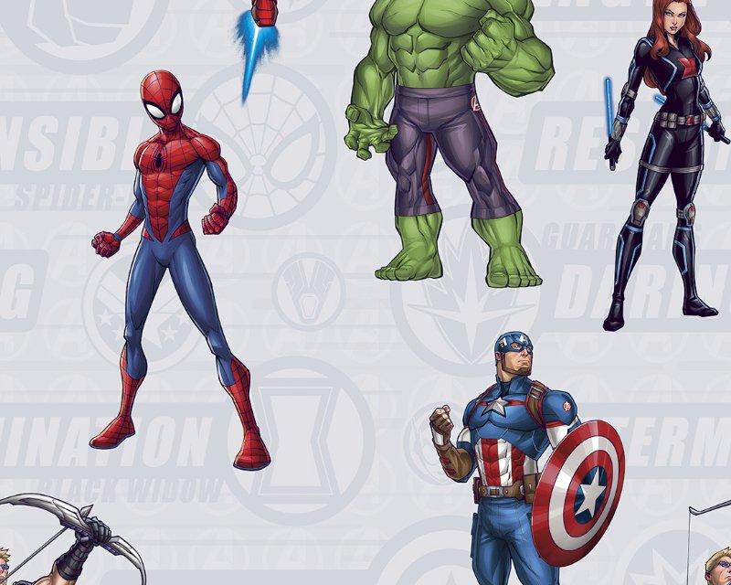100%Cotton Avengers Assemble