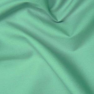 Cotton Poplin Plain Aqua