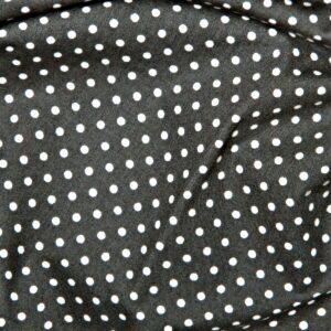 100%Cotton Polka Dots Grey