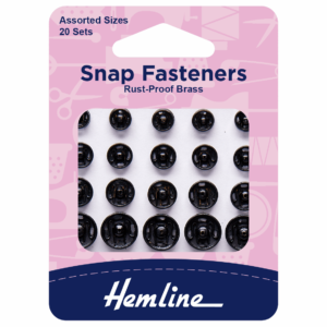 20 Assorted snap fastening