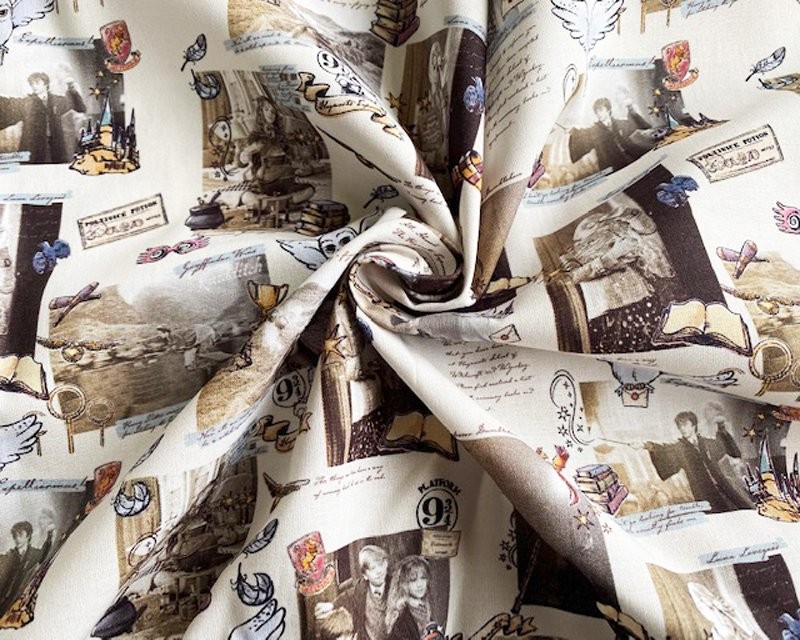 100%Cotton Harry Magical Notebook