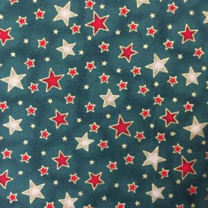 red and silver stars
