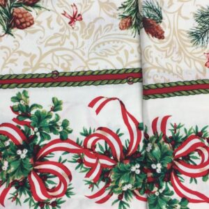 double border table cloth fabric
