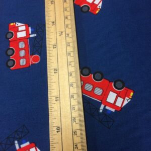 100% Cotton Fire Engines
