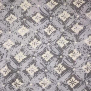 Grey Viscose with flowers