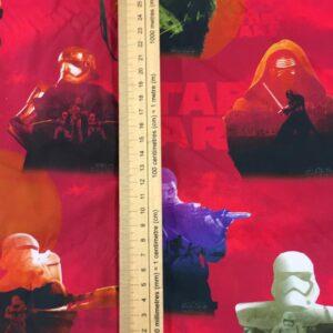 100%Cotton Red Star Wars