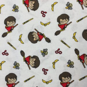 100%Cotton Harry on broomstick