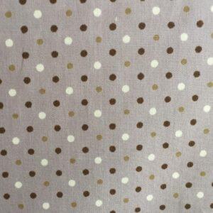 100%Cotton 3mm Polka Dots