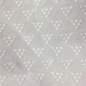 Embroidered Anglaise Triangle