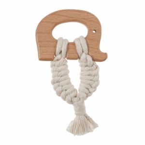 Craft Ring Wooden Elephant