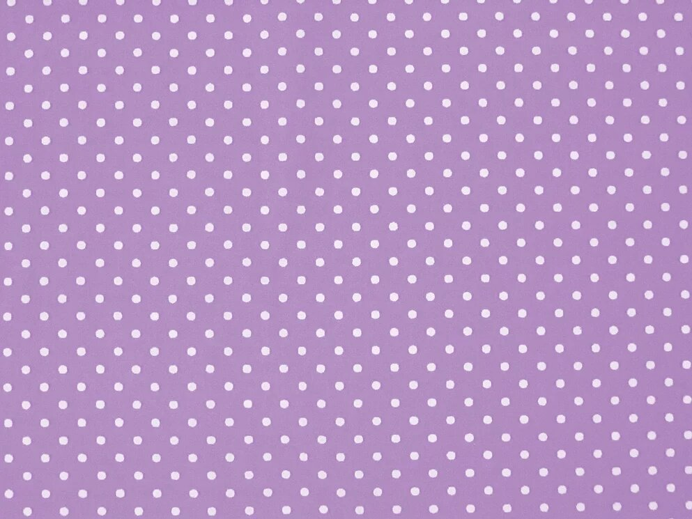 100%Cotton Polka Dots Lilac/white